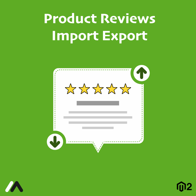 Meetanshi Magento Extension: Magento 2 Product Reviews Import Export