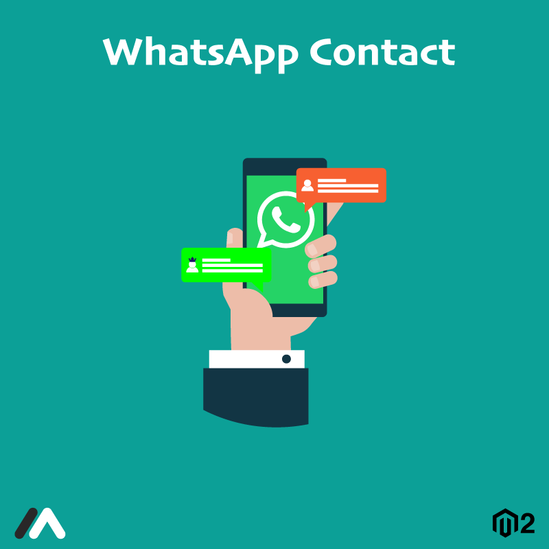 Magento Extension: Magento 2 WhatsApp Contact Extension