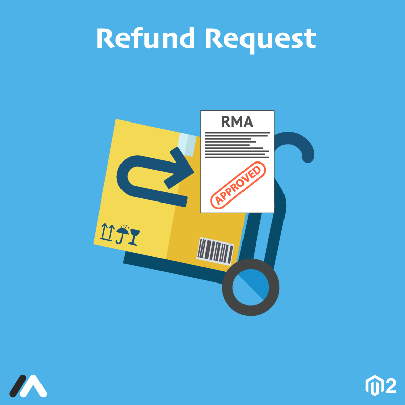 Meetanshi Magento Extension: Magento 2 Refund Request Extension