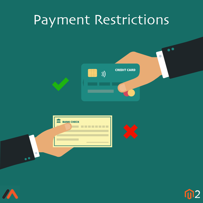 Meetanshi Magento Extension: Magento 2 Payment Restrictions