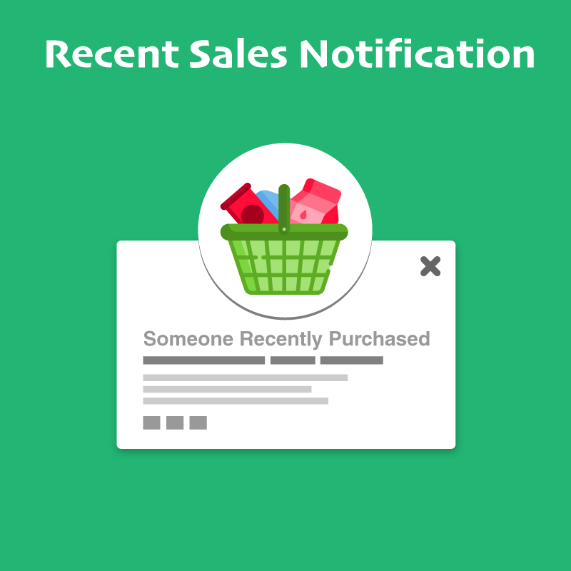 Meetanshi Magento Extension: Recent Sales Notification for Magento 2
