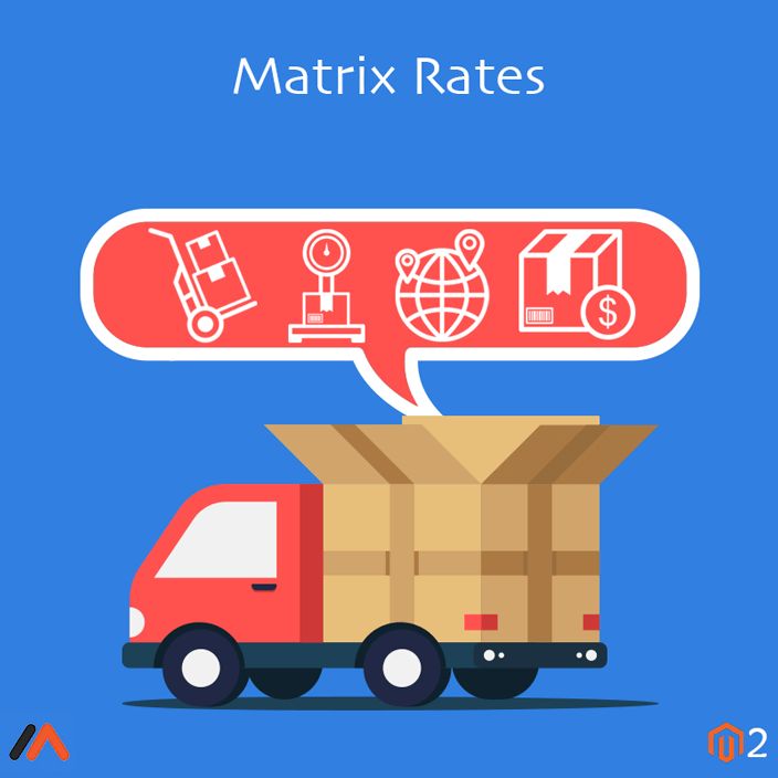 Magento Extension: Magento 2 Matrix Rates Extension