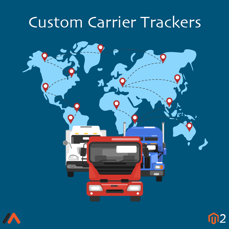 Magento Extension: Magento 2 Custom Carrier Trackers