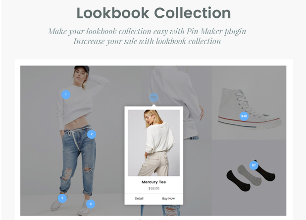 Magesolution Magento Extension: Shop by Look Magento 2