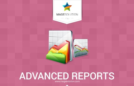 Magesolution Magento Extension: Magento Advanced Reports by Magesolution