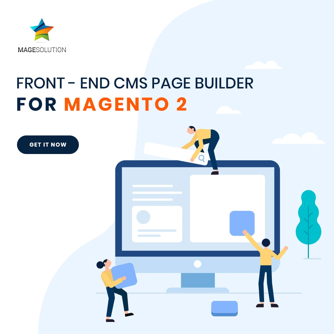 Magesolution Magento Extension: Free Download Front-end Cms Page Builder Magento 2