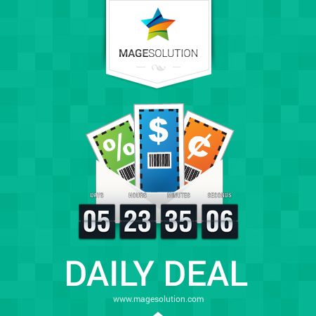 Magesolution Magento Extension: Free Magento Daily Deal Extension