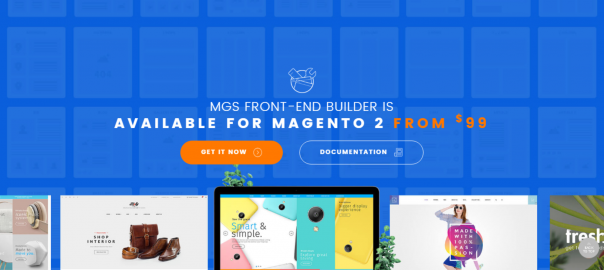 Magesolution Magento Extension: Magento 2 Frontend Builder