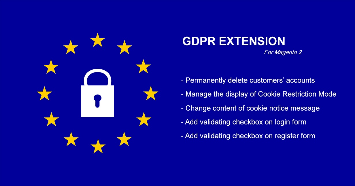 Magesolution Magento Extension: Free GDPR for Magento 2