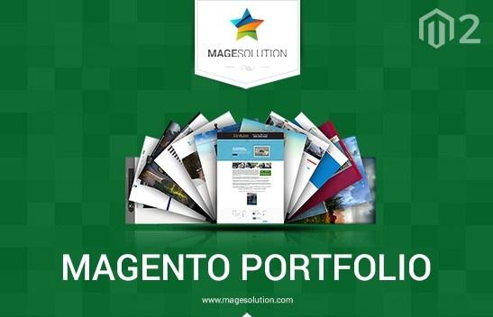 Magesolution Magento Extension: Free Magento 2 Portfolio extension