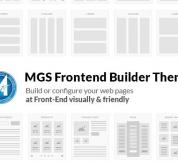 Magento Free extension - Free MGS Frontend builder theme