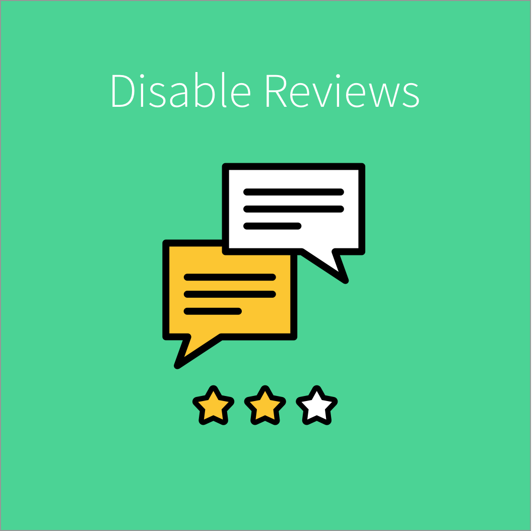Magento Extension: Disable Reviews for Magento 2