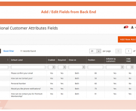 Magento Extensions: CUSTOM REGISTRATION FIELDS for Magento 2
