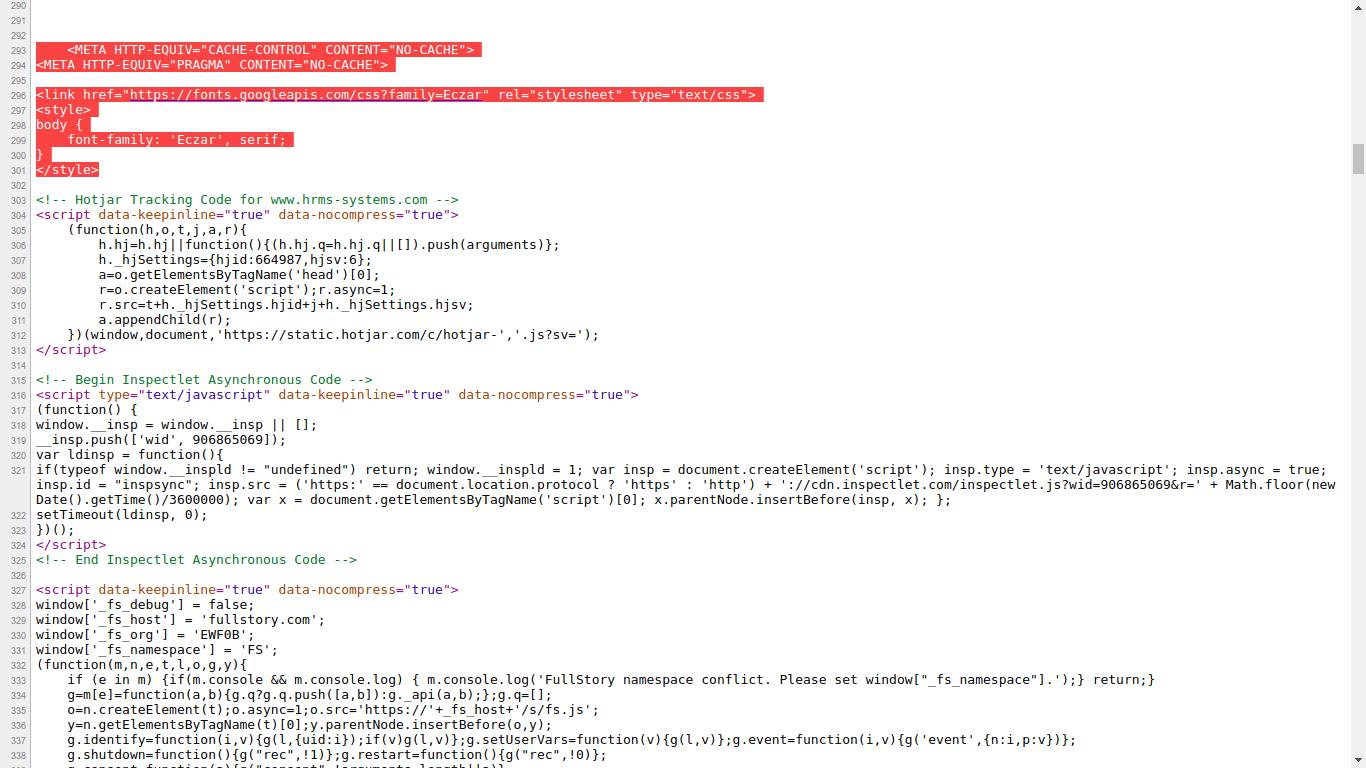 shahab Prestashop Extension: PrestaShop Custom HTML in Head Tags on Selected Pages