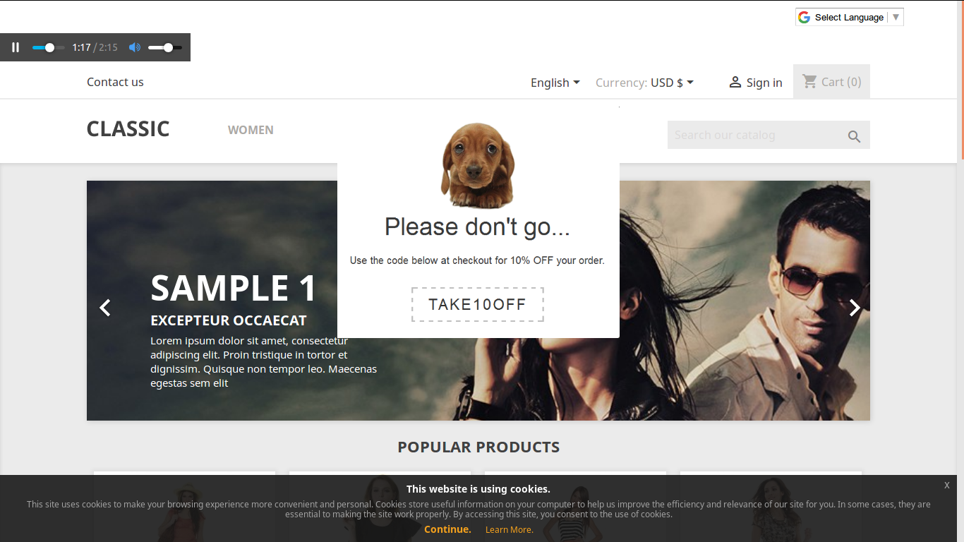 shahab Prestashop Extension: MP3 Audio in Background on Pages with Player Controls