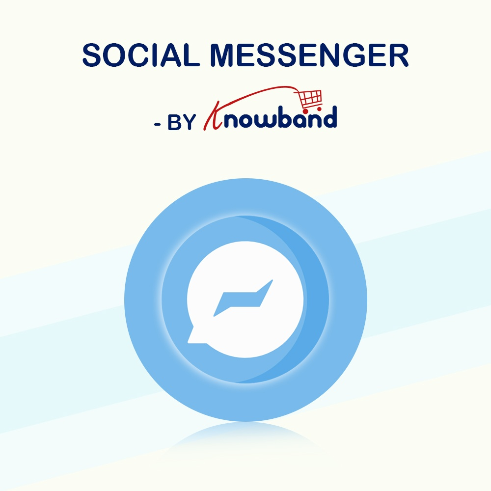 Prestashop Extension: Prestashop social messenger addon by Knowband | Social Live Chat Support