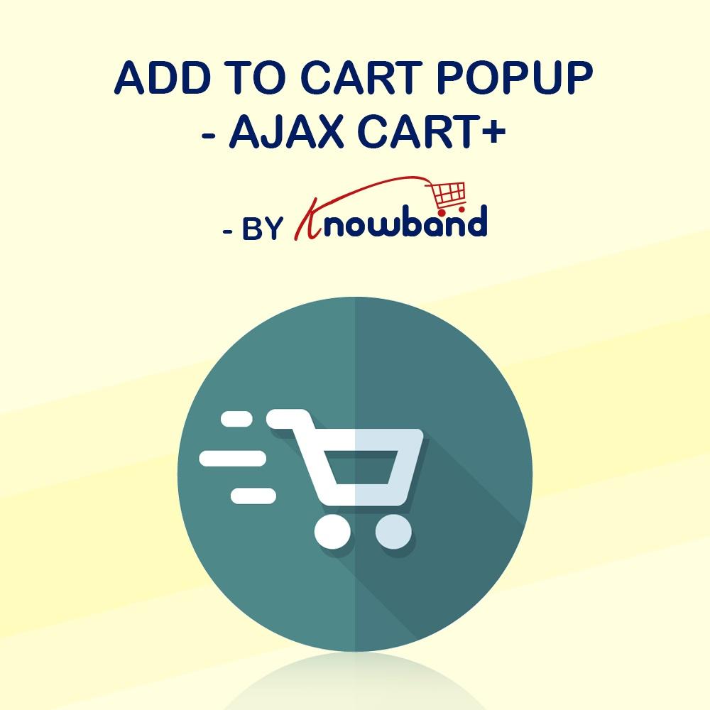 Natalie T Prestashop Extension: Prestashop Ajax Cart+ Addon by Knowband