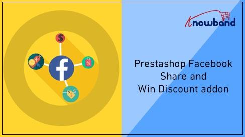 Prestashop Extension: PrestashopFacebook Share and Win Module by Knowband