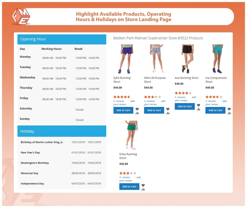 Magento Extension: Store Pickup for Magento 2
