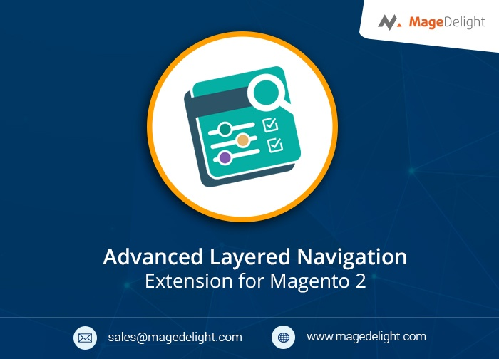Magedelight Magento Extension: Magento 2 Layered Navigation Extension