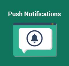 Magento Premium extension - Push Notifications Extension for Magento 2 by MageDelight