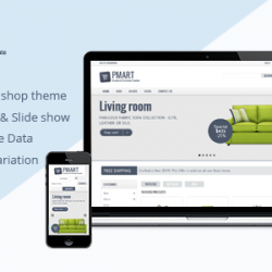 Prestashop news: Pmart - Responsive Clean Prestashop Ecommerce Theme