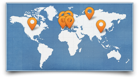 Joomla news Roockbuilder all over the world, new languages!
