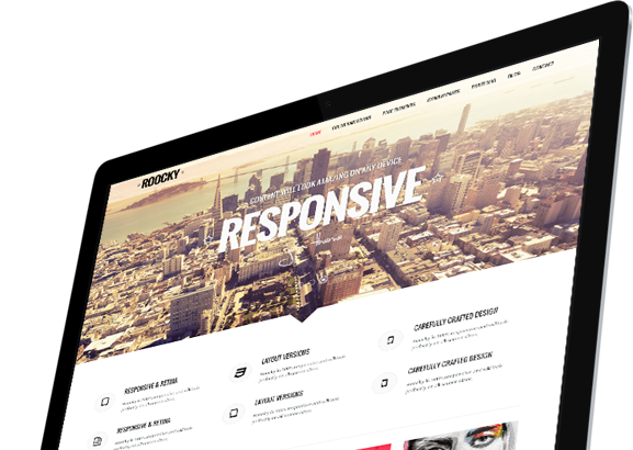 Joomla news Your Roocky template. Part 4 of 6: Corporate layout