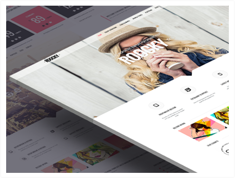 balbooa Joomla News: Your Roocky template. Part 5 of 6: Minimal classic Layout