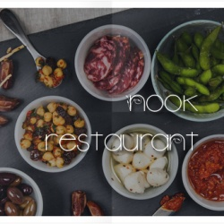 "News WordPress: ""Nook"" The Most Delicious Joomla Restaurant Template."