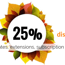 News WordPress: Autumn Deal: 25% discount from OrdaSoft