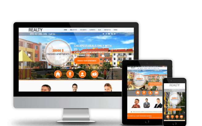 Drupal News: Realty - Drupal Real Estate Theme