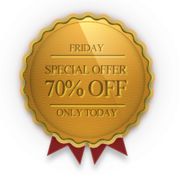 OrdaSoft Joomla News: Happy Friday - 70% discount  on one random template