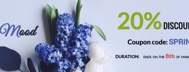 Joomla news Spring 20% discount from OrdaSoft