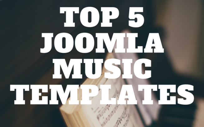 OrdaSoft Joomla News: TOP 5 Joomla Music Templates