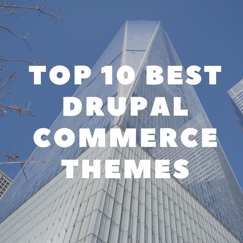 Drupal News: Top 10 Best Drupal Commerce Themes