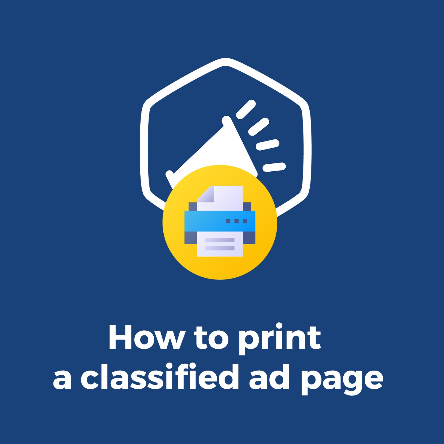 Joomla News: Discover how to print DJ-Classifieds ads