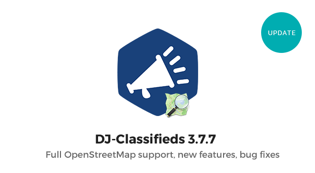 Joomla News: DJ-Classifieds 3.7.7 with full OpenStreetMaps support and more features