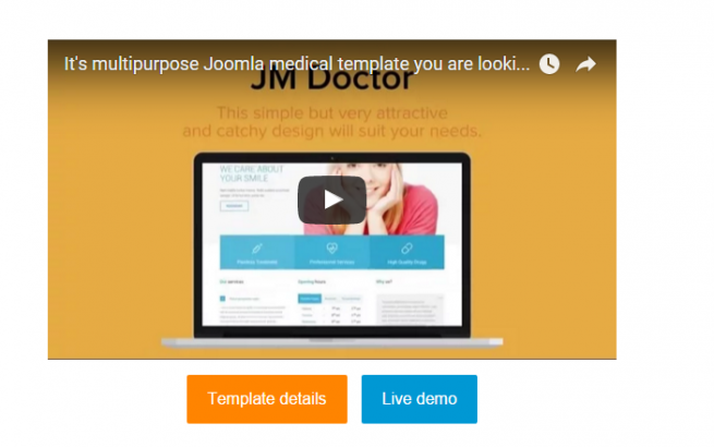 Joomla news It's multipurpose Joomla medical template you are looking for!