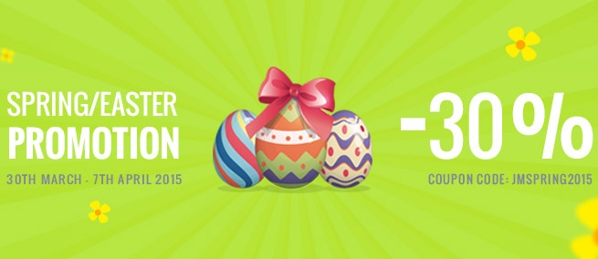 Joomla-Monster Joomla News: It's time for Spring 2015 promotion!