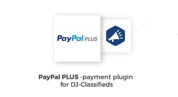 Joomla News: PayPal Plus DJ-Classifieds payment plugin