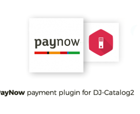 Joomla news:  PayNow DJ-Catalog2 payment method