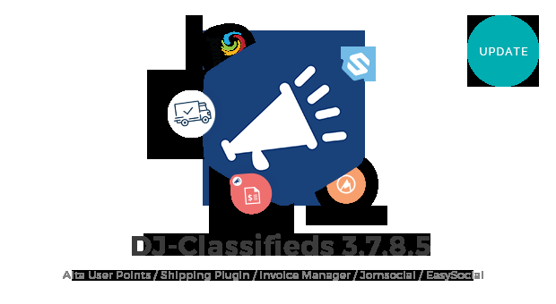 Joomla News: DJ-Classifieds updated to 3.7.8.5 version. Minor improvements introduced.
