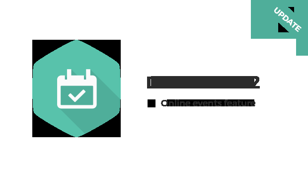 Joomla News: DJ-Events with Online/Virtual events feature!