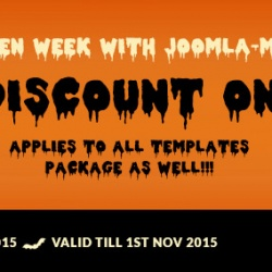 News Joomla: Halloween week with Joomla-Monster!