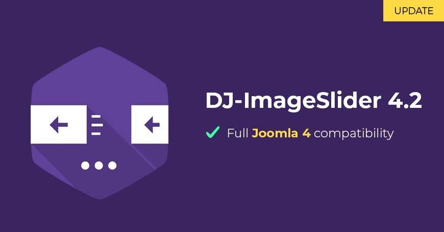 Joomla News: DJ-ImageSlider with full Joomla 4 compatibility