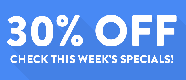 Joomla news Special Offer - templates are 30% OFF