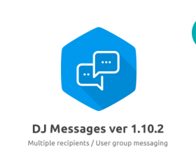 Joomla news: The new mass messages feature in DJ-Messages