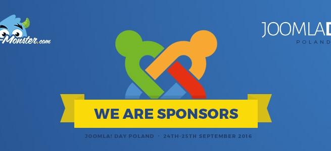 Joomla News: We are sponsors of JoomlaDay Poland 2016.