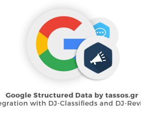 Joomla news: Google Structured Data and DJ-Classifieds integration